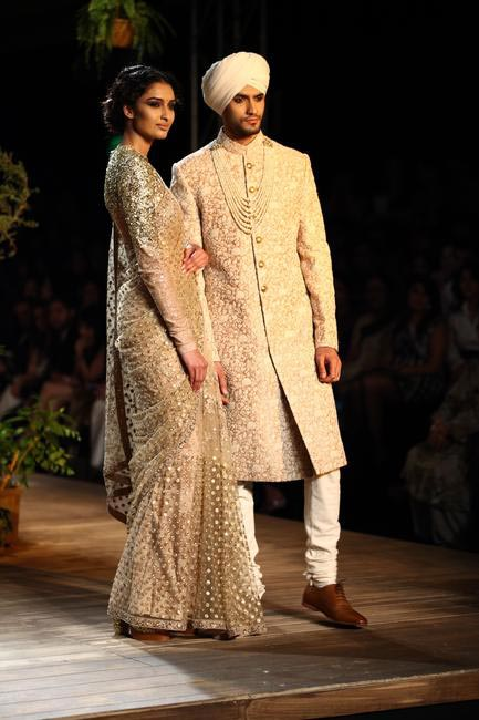 We saw a lot of Menswear by Sabyasachi at Delhi Couture Week 2013