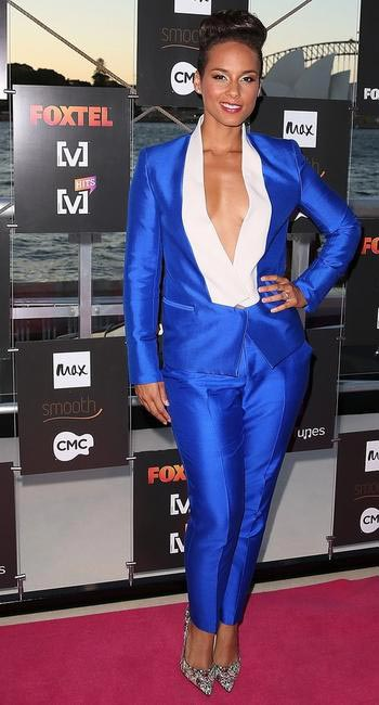 Alicia Keys at Foxtels MTV summer launch