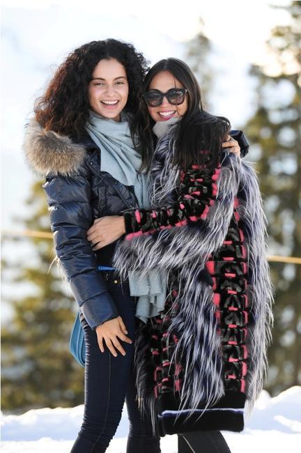 ASMALLWORLD Winter Weekend - Kangana Ranaut, Sabine Heller