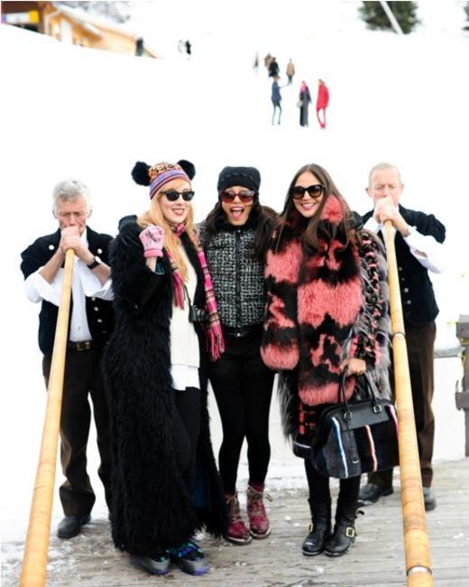 ASMALLWORLD Winter Weekend - Paula Goldstein, Freida Pinto, Sabine Heller
