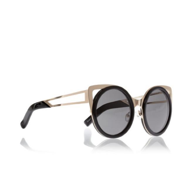 Erdem Cat Eye acetate and gold-tone sunglasses