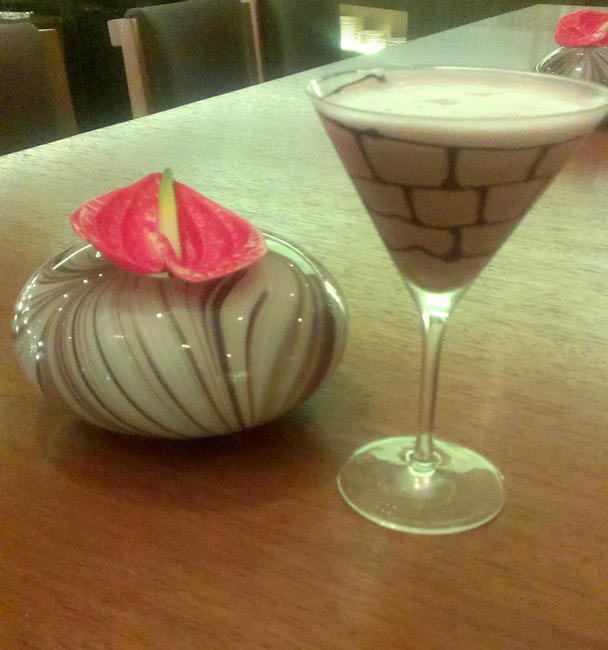 GingerBread Martini at Li Bai Palladium Hotel , Mumbai