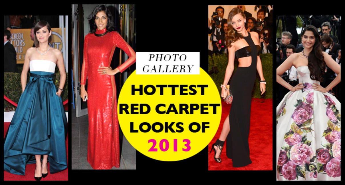 Hottest red carpet looks of 2013