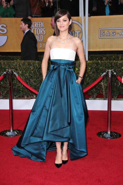 Marion Cotillard in Christian Dior at SAG Awards