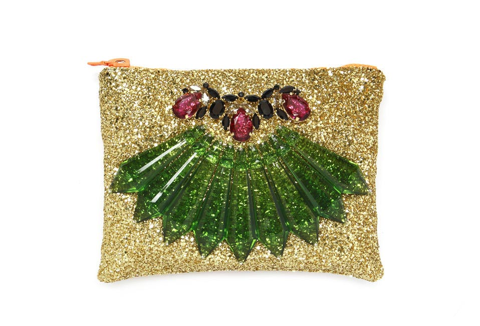 Mawi Glitter Bug Clutch available at Le Mill