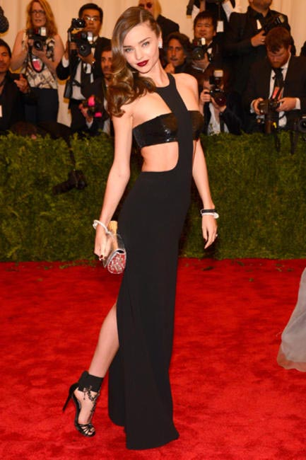 Miranda Kerr in Michael Kors at the 2013 Met Ball