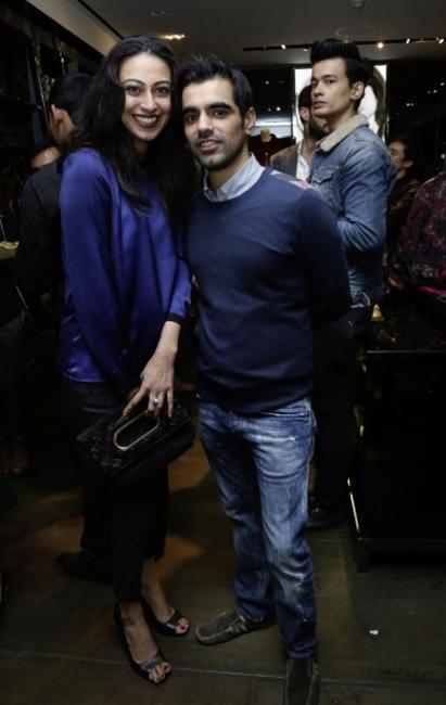 Tina Chatwal and Arjun Bahl