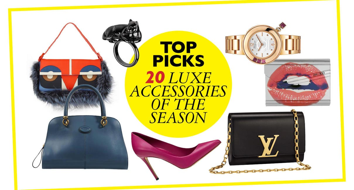 Top picks 20 Luxury Accessories Of The Season