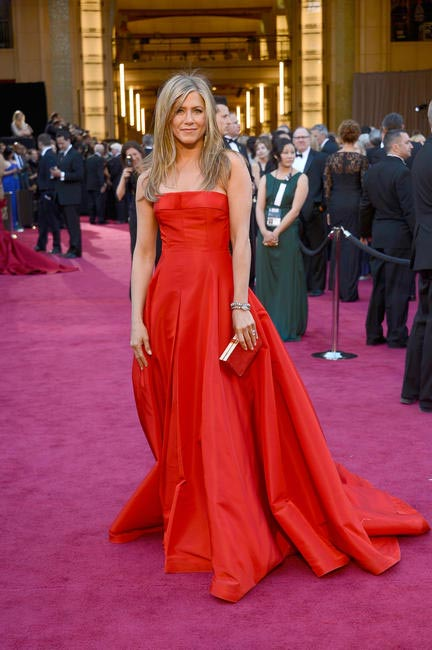 Jennifer Aniston in Valentino gown