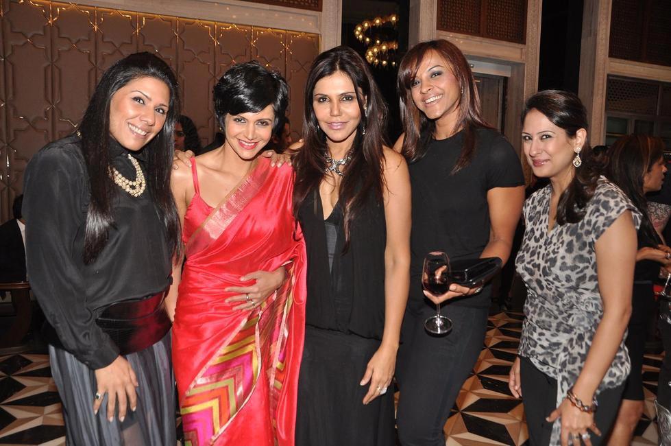 L-R Mandira Bedi, Nisha Jamvwal, Manasi Scott