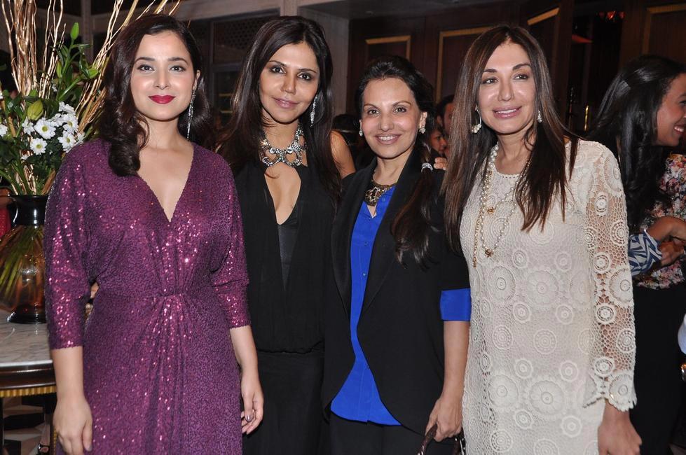 L-R Simone Singh, Nisha Jamvwal, Poonam Soni and Kadambari Lakhani