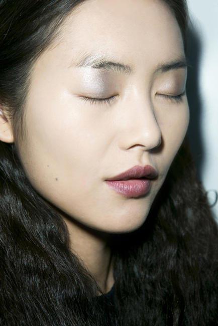 Liu Wen_Eyes Closed Profile_Derek Lam