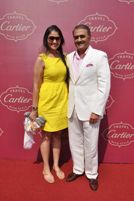 Praful Patel with daughter Poorna