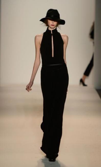 RACHEL ZOE BLACK DRESS