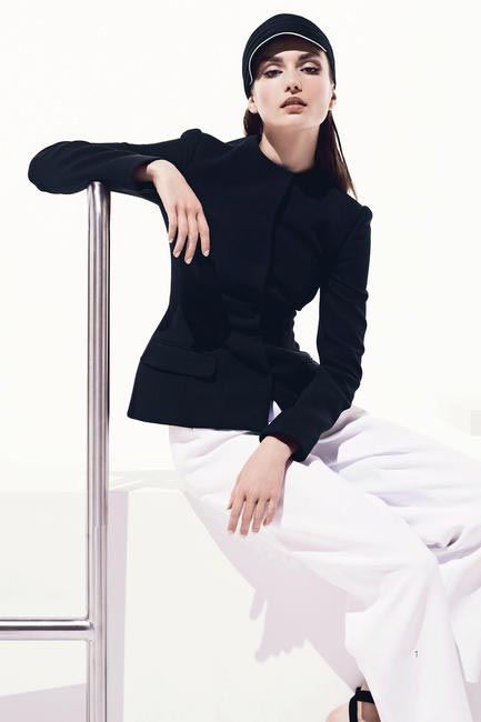Dior Resort 2013 Black Full Sleeved Shirt and Trousers