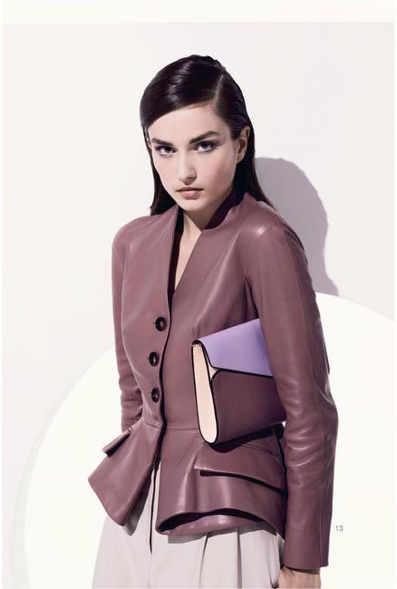 Dior Resort 2013 Leather top
