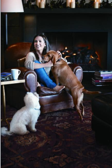 Bobbi Brown with Biggie and Pup Pup