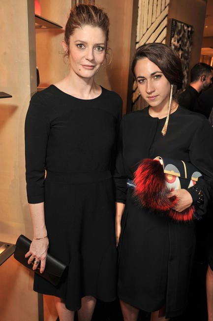 Chiara Mastroianni & Delfina Delettrez Fendi