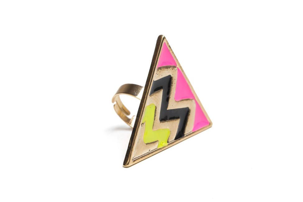 Enamelled Ring, faballey.com, Rs 399