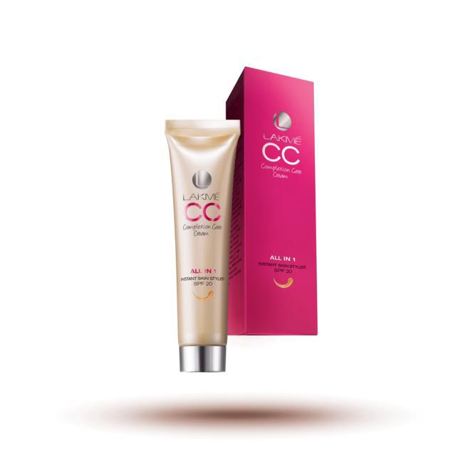 Lakme CC cream with SPF 20Rs. 250 for 30 ml