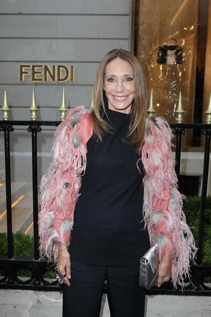Marisa Berenson at Fendi's Paris Store Opening cocktail party