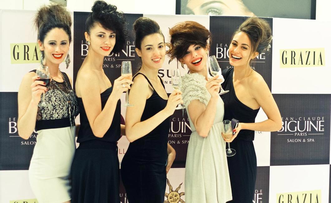 Models Florencia, Phoebe and Bianca, Bianka, Anabella & Alina