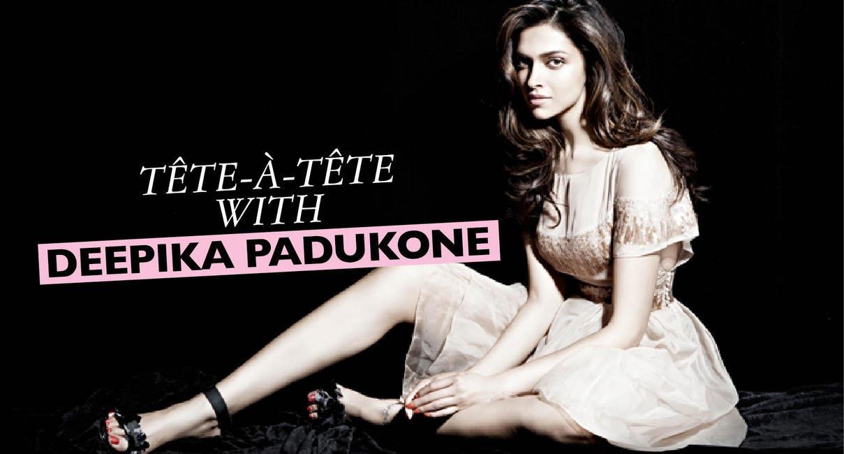 5 minutes with Deepika Padukone