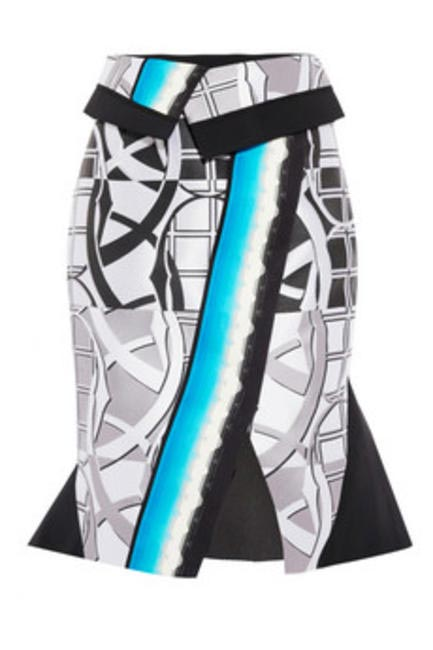 Abstract printed skirt Peter Pilotto at Net-a-porter.com Rs 53,000
