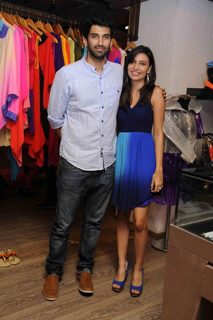 Aditya Roy Kapoor and Sonya Vajifdar