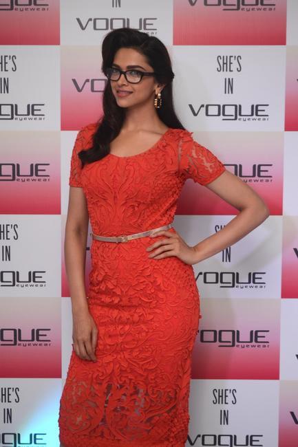 Deepika Padukone the Brand Ambassdor of Vogue Eyewear