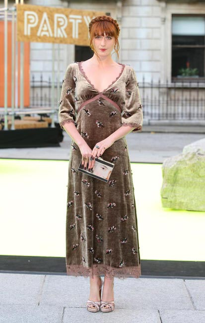 Florence Welch in Louis Vuitton