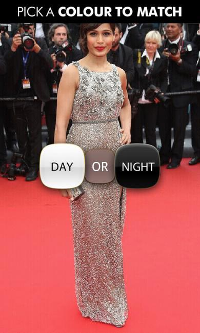 Pick between a day or night look