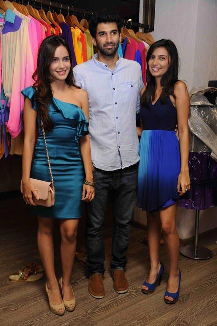 Shazahn Padamsee, Aditya Roy Kapoor and Sonya Vajifdar