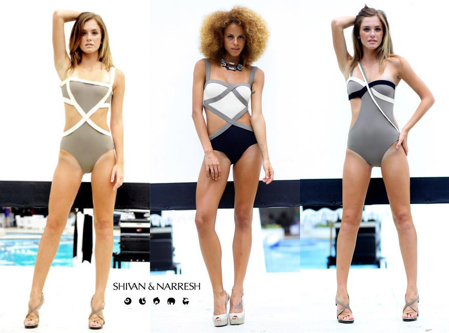 Shivan & Narresh collection showcased at MBFW SS 2012