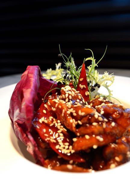 Stir Fried Chor Chong Chicken