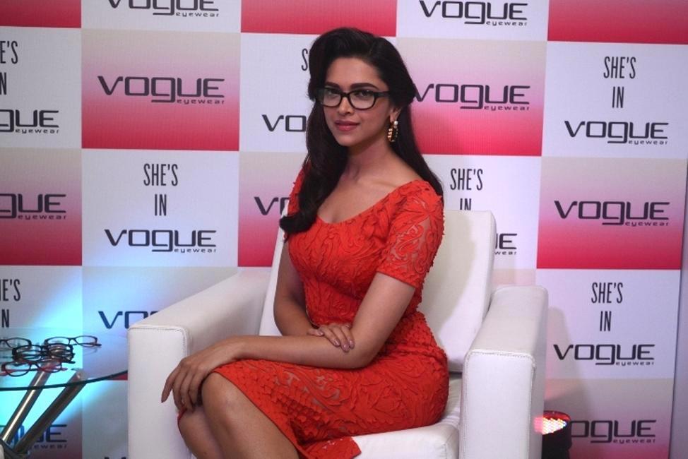 Vogue Eyewear introduces Deepika Padukone as their Brand Ambassdor