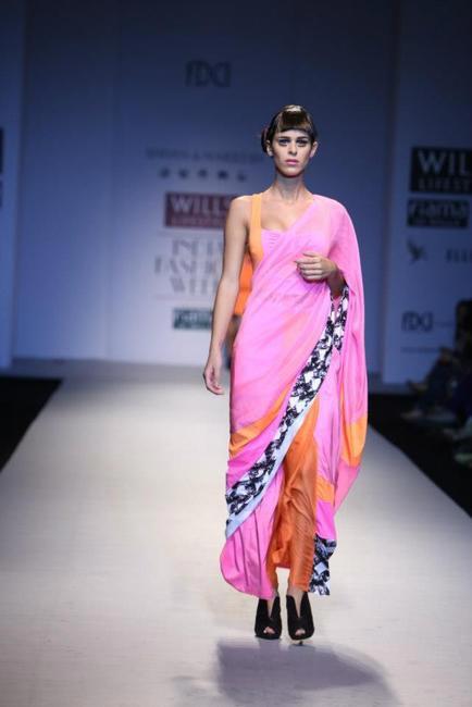 A new resort sari by Shivan & Narresh