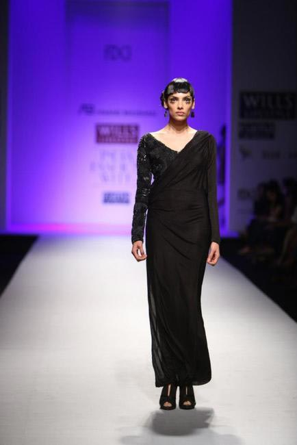 Anand Bhushan - WIFW Autumn Winter '13