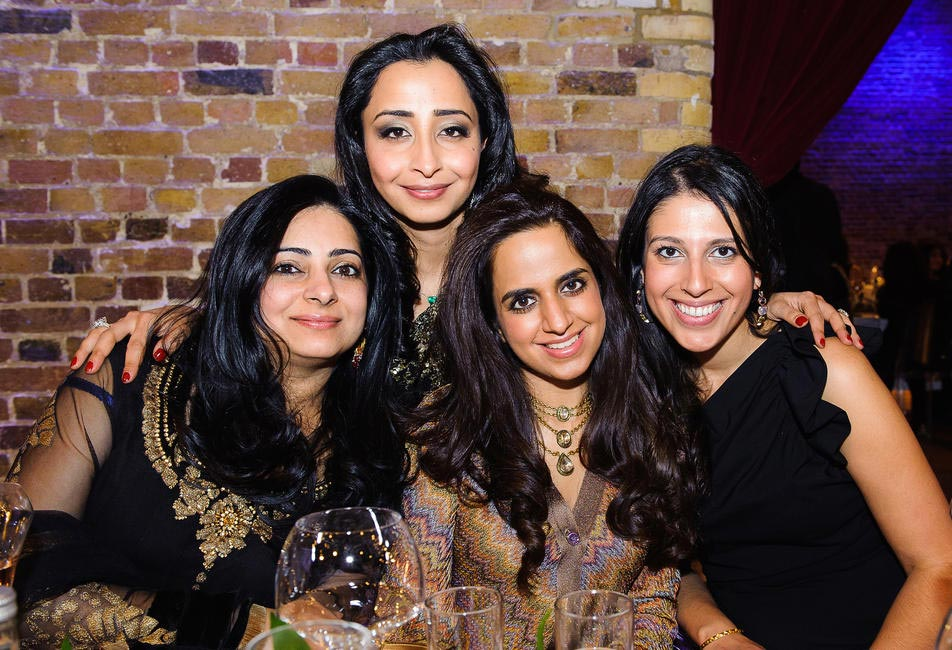 Blogger Priyanka Gill with Ruchika Rohtagi, Chandni Munjal Arora and Shaila Bahl
