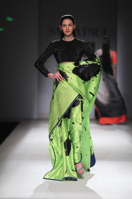 Debut collection by Masaba For Satya Paul