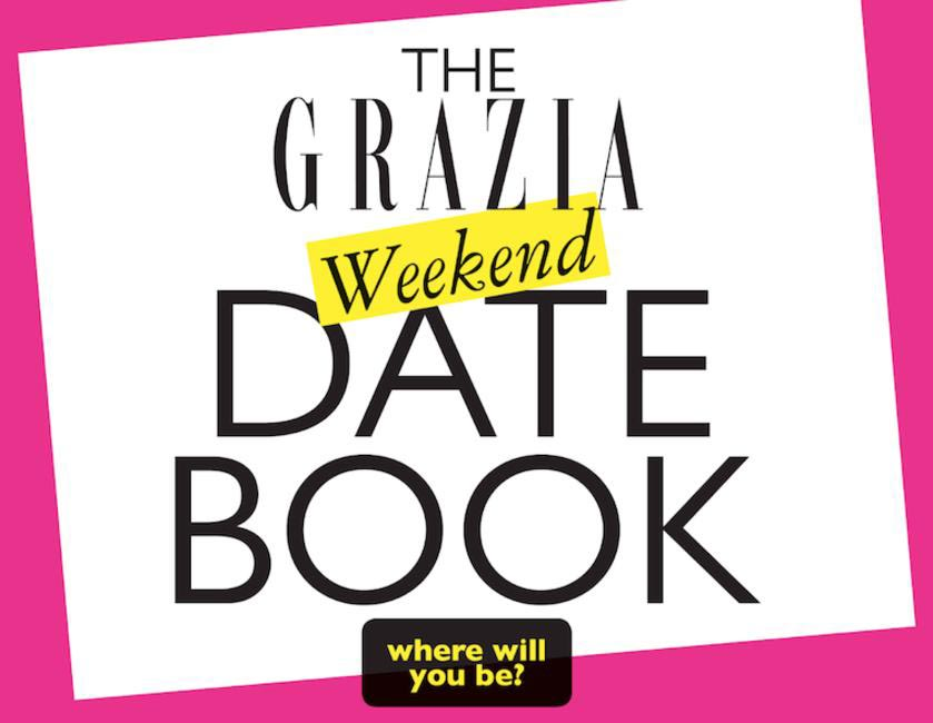 Grazia Weekend Date Book
