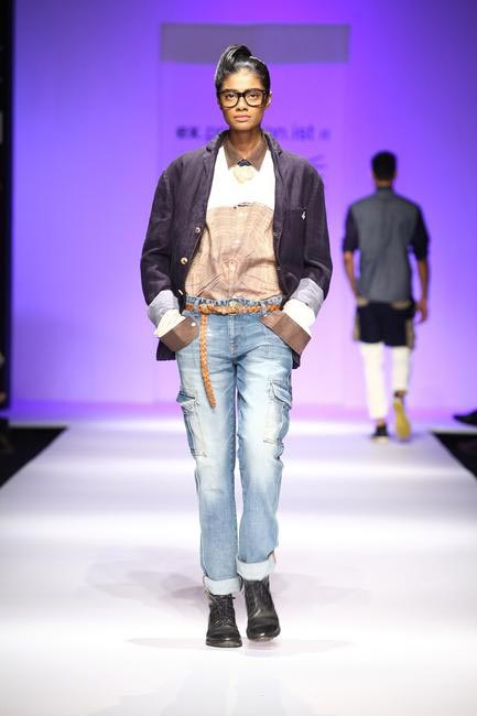 Javed Khan at LFW SR 2013 - 1