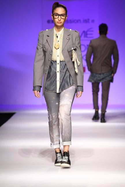 Javed Khan at LFW SR 2013 - 3