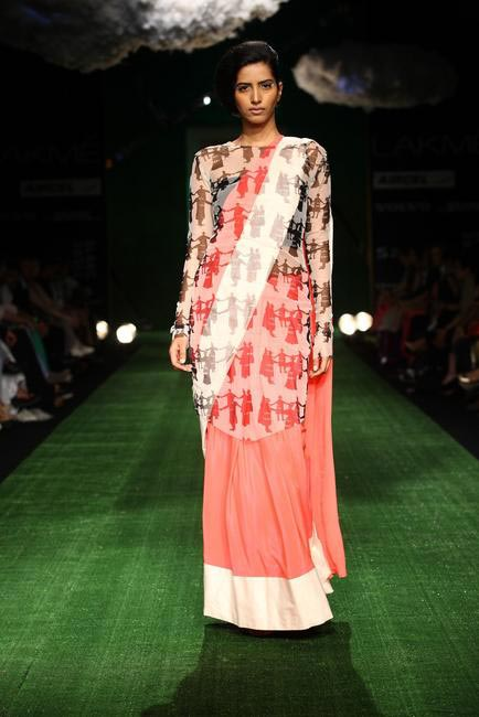 Masaba at LFW SR 2013 - 4