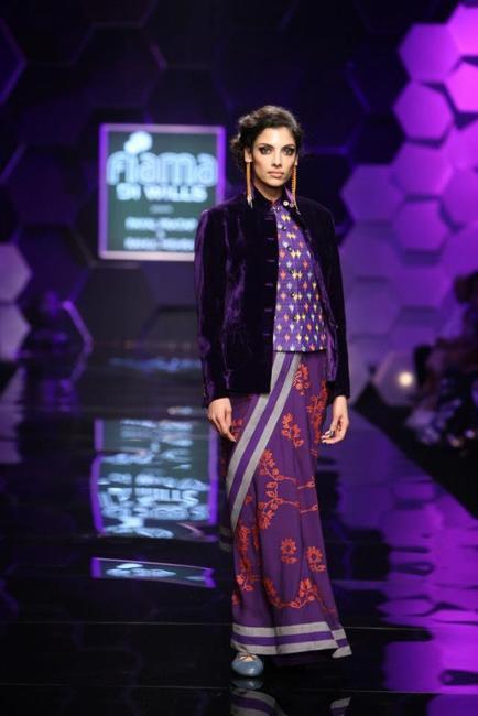 Payal Pratap - WIFW Autumn WInter 2013
