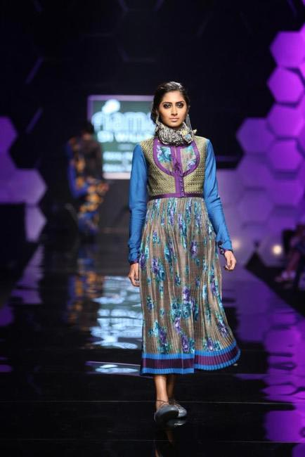 Payal Pratap's pleated skirts were our favourite
