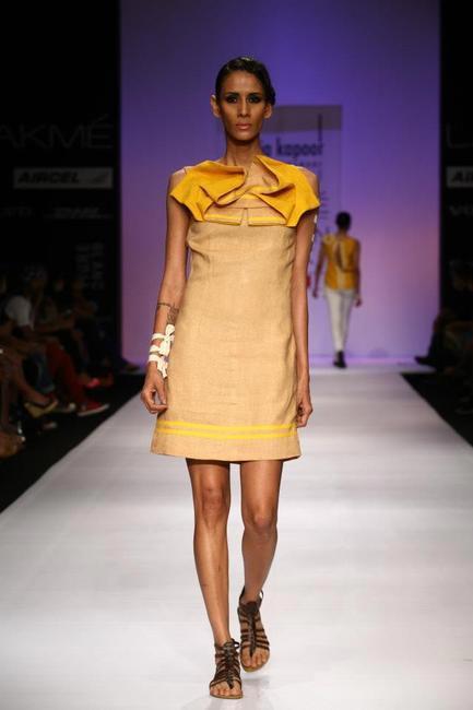 Pooja Kapoor at Lakme fashion Week Spring Summer 2013