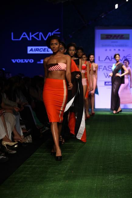Shivan -Narresh at LFW SR 2013 - 3