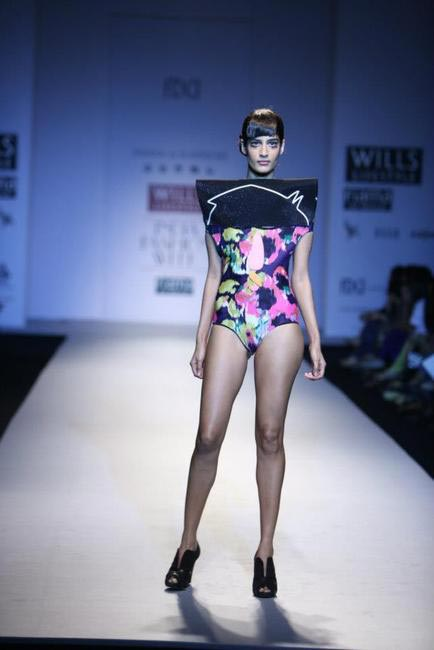 Shivan & Narresh's Naïve inspired swimsuit