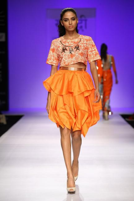 Surendri by Yogesh Chaudhary at Lakme Fashion Week SS 2013